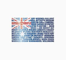 Australia place names flag Unisex T-Shirt