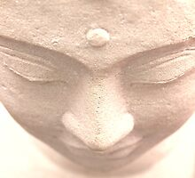Buddha in Contemplation by Aileen David