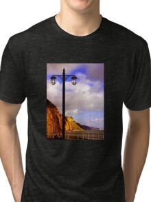 Lamp Along the Seafront Tri-blend T-Shirt