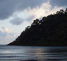 Headland at Dusk by Fiona Allan Photography