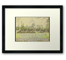 ~ The Gift ~ Framed Print