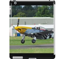 US Mustang fighter iPad Case/Skin