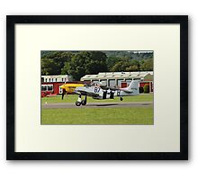 Mustang P51-D fighter Framed Print
