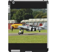 Mustang P51-D fighter iPad Case/Skin