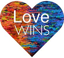 Love Wins Heart by umeimages