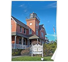 Sea Girt Lighthouse From the Street Poster