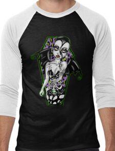 Hate the Living ,Love the dead Men's Baseball ¾ T-Shirt
