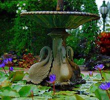 Fountain by voir