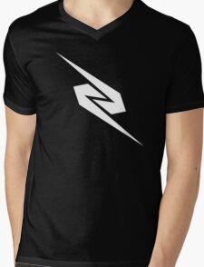 Zeddabmx logo Mens V-Neck T-Shirt