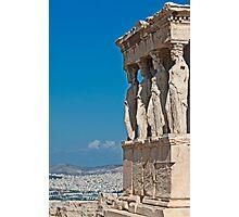 Erechtheum, Acropolis of Athens (II) Photographic Print