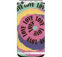 Love. Typography, t-shirt graphics, vectors iPhone Case/Skin