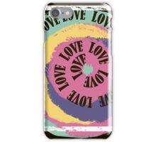 Love. Typography, t-shirt graphics, vectors iPhone Case/Skin