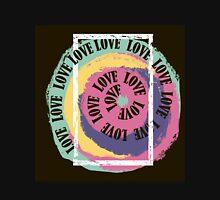 Love. Typography, t-shirt graphics, vectors Unisex T-Shirt
