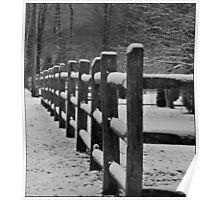Old Snow Corner Poster