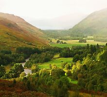 Autumn ~ River Droma Near Corrieshalloch Gorge, Scotland by artwhiz47