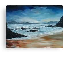 Roaring water Bay Canvas Print