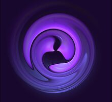 Purple Swirl by Scott Brookshire