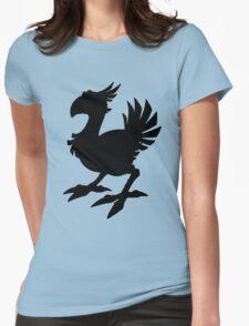 Black Chocobo Womens T-Shirt