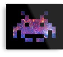 Space Invader Galaxy Metal Print