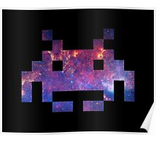 Space Invader Galaxy Poster