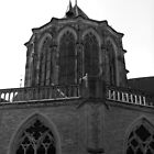 Churches (one of seventeen) in Kampen the Netherlands by patjila