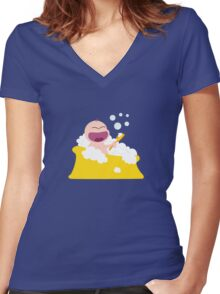 Petit Cheri Women's Fitted V-Neck T-Shirt