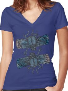 The Dance Women's Fitted V-Neck T-Shirt