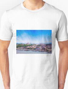 Breathtaking Istanbul & The Golden Horm Unisex T-Shirt