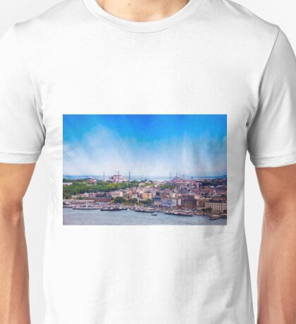 Breathtaking Istanbul & The Golden Horm Unisex T-Shirt