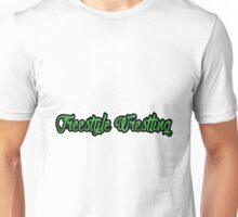 Freestyle Wrestling Green  Unisex T-Shirt