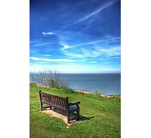 View at Tankerton Slopes Photographic Print