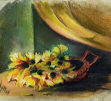 Floral Still Life by Elisabeta Hermann