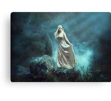 Mystic Beauty - winds for the siren Canvas Print