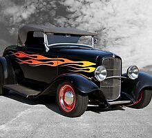 1932 Ford Roadster 'Traditional Hot Rod' by DaveKoontz
