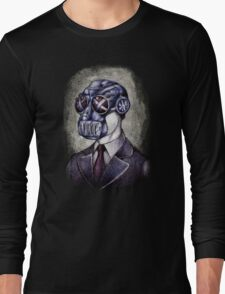 Gas Mask Man Long Sleeve T-Shirt