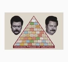 Swanson Pyramid of Greatness by caitlinkrose