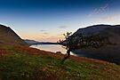 Sunrise Crummock Water, Cumbria. UK by David Lewins