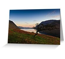 Sunrise Crummock Water, Cumbria. UK Greeting Card