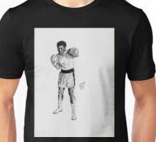 Mohammed Ali the Boxer Unisex T-Shirt
