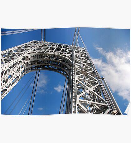 GW Manhattan Tower Poster