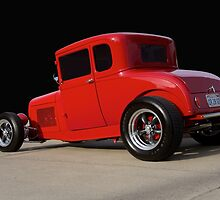 1928 Ford 'Little Red' Coupe Ia by DaveKoontz