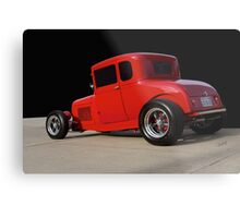 1928 Ford 'Little Red' Coupe Ia Metal Print