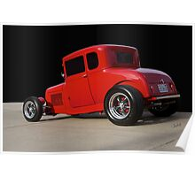 1928 Ford 'Little Red' Coupe Ia Poster