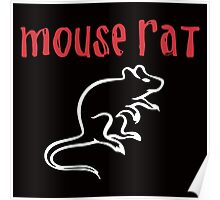 Mouse Rat- Parks and Rec Poster