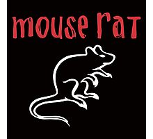 Mouse Rat- Parks and Rec Photographic Print