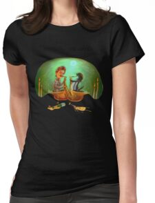 PENGUIN, SHE SAXED Womens Fitted T-Shirt