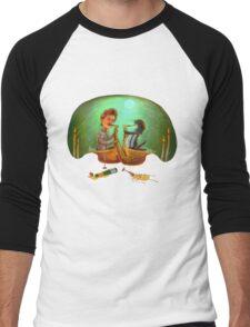 PENGUIN, SHE SAXED - dark Men's Baseball ¾ T-Shirt