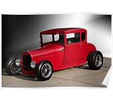 1928 Ford 'Little Red' Coupe IIIa Poster