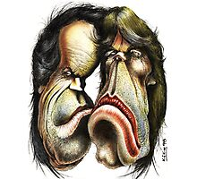 The Rolling Stones caricature Photographic Print