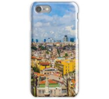 Areal view over delightful &vibrant Istanbul, TURKEY iPhone Case/Skin